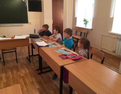 Очередные занятия дошкольной группы по методике Русской Классической Школы